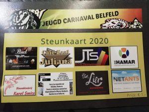 Steunkaarten 2019